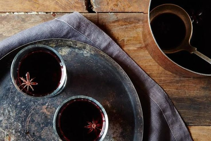 Glögg (Mulled Wine Punch) recipe: Mulled wine + extra booze. Count us in.
