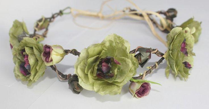 Coroa de Flores Mata Atlântica - G.Offer / flower crown