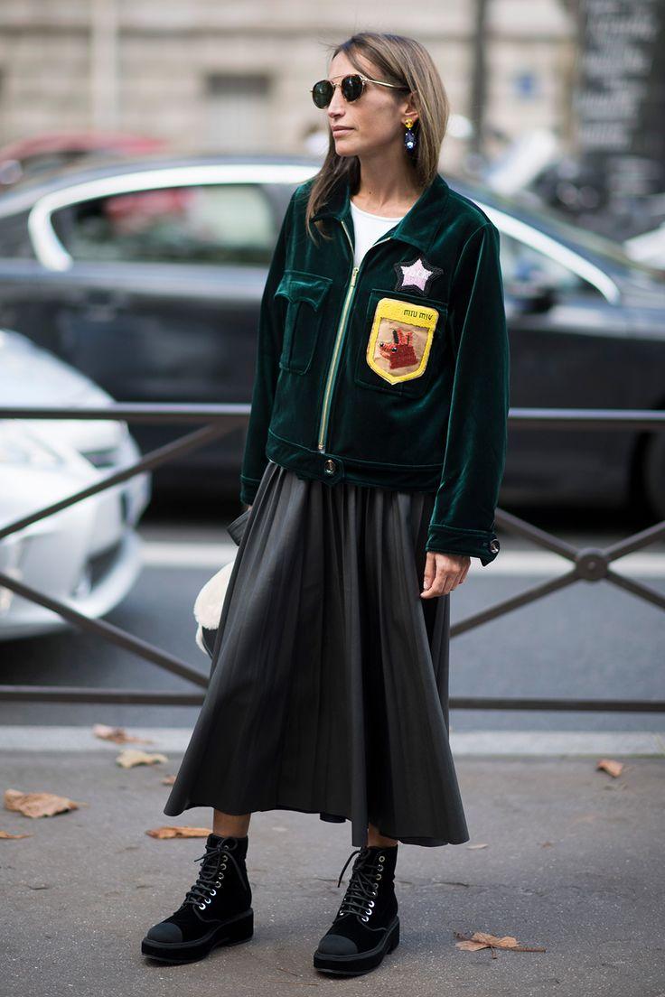 STYLECASTER   Chicest Ways to Wear Velvet Now
