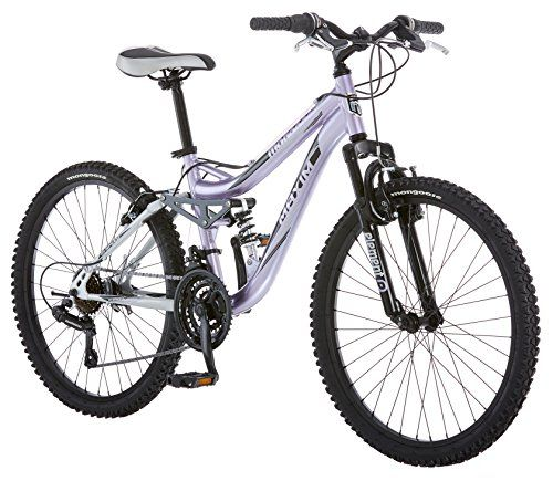 Mongoose Girl's Maxim Full Suspension Bicycle (24-Inch) http://coolbike.us/product/mongoose-girls-maxim-full-suspension-bicycle-24-inch/