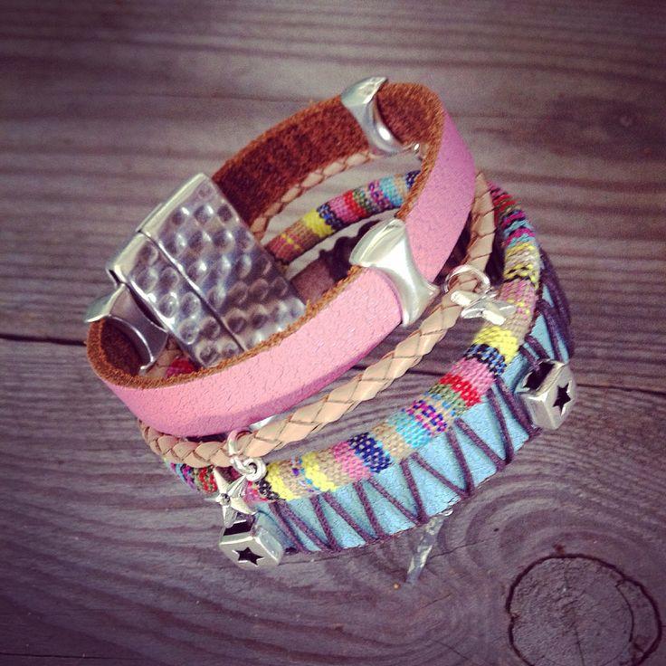 #bracelet #armband #leather #leer  #bohemian @abitoflilli