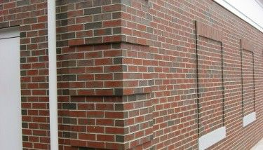 Brick quoins corners brick work for Brick quoin corners