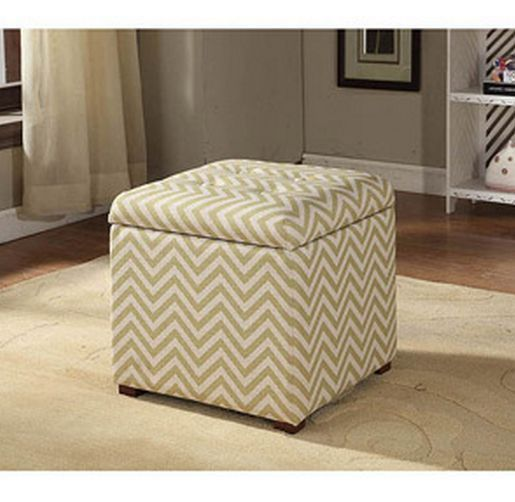 STORAGE OTTOMAN CHEVRON FABRIC COVERED BEDROOM LIVING ROOM DENFURNITURE  SEAT NEW #Kinsley #Modern | Benches and Screens, Contemporary LR |  Pinterest ... - STORAGE OTTOMAN CHEVRON FABRIC COVERED BEDROOM LIVING ROOM