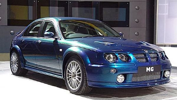 The most powerful version of the rear-wheel-drive MG ZT spent a long time in development - and, in the end, it didn't make it into production, as time ran