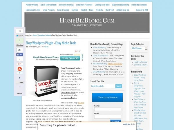 Ebay Wordpres Plugin – Ebay Niche Tools