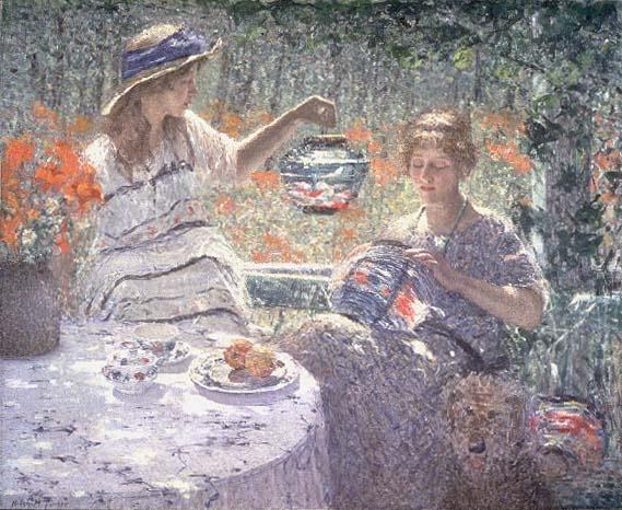 Helen Turner,Lillies, Lanterns, and Sunshine, c. 1923