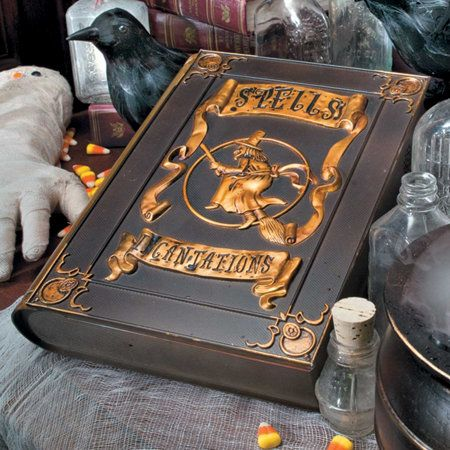 animated witchs spellbook it spookily opens and talks the sanderson sisters must have had - Witch Halloween Decorations