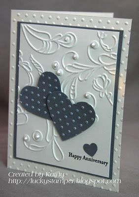 like the colours and the layout... http://luckystamper.blogspot.com/2011/12/happy-anniversary.html