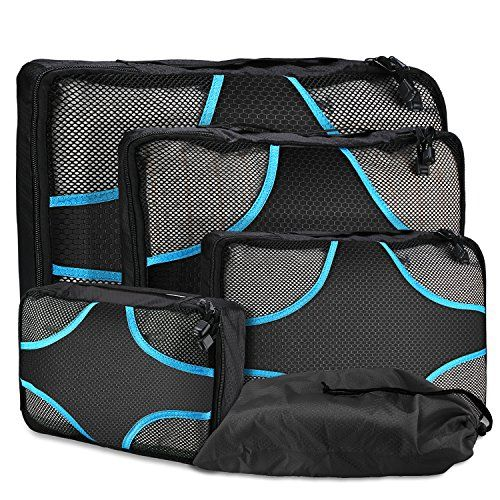 Cubes D Emballage Procase Pour Voyage Cubes D Emballage De 4 Pieces Organiseurs D Emballage Pour Bagages Packing Luggage Travel Luggage Packing Packing Cubes
