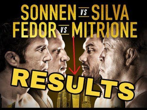 MMA Bellator 180 New York results / reactions (Chael Sonnen vs Wanderlei Silva, Fedor vs Mitrione)