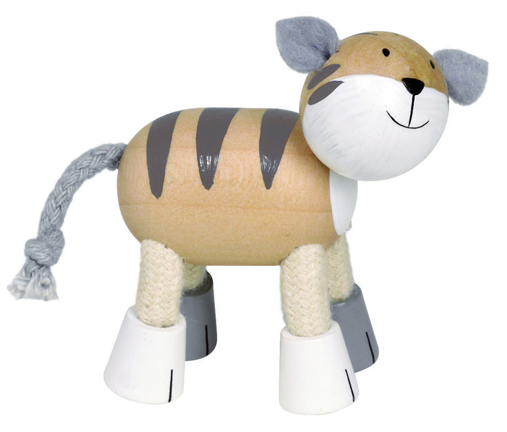 Natural and high quality toys to the development of the skills of children. Jacob is an other friend. He is a cat. http://www.toys4skills.com/categories/flexible-animals/cat-jacob.html