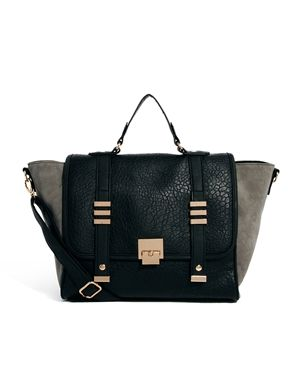 New Look Carly Winged Satchel Bag