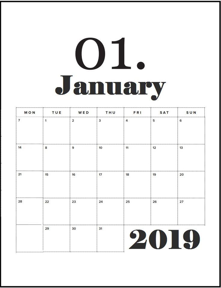Best January 2015 Fashion Magazine Covers: January 2019 Best Wall Calendar