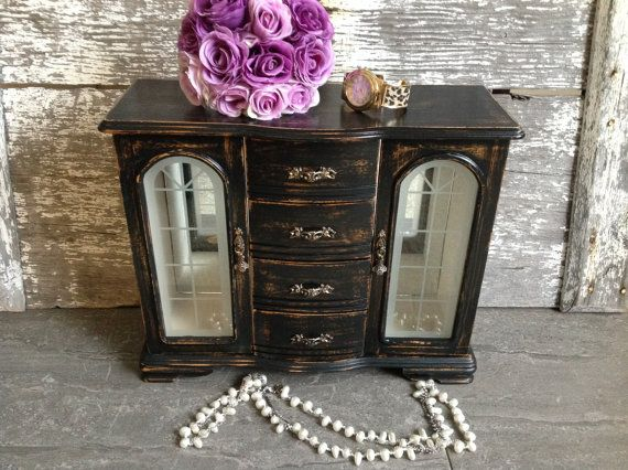 131 best Jewelry boxes images on Pinterest Jewelry storage