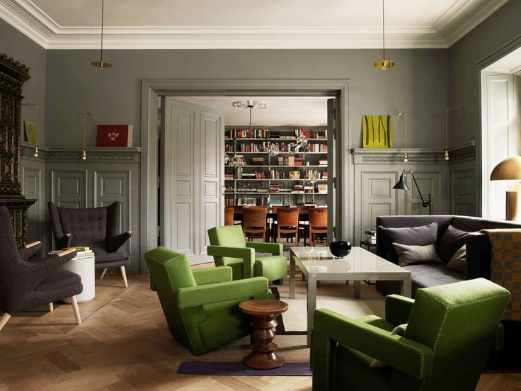 Ett Hem Hotel Stockholm was born out of a successful collaboration between the owner, Jeanette Mix, architect Anders Landstrom, and Studio Ilse.