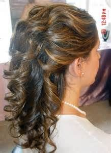 28 best Weddings images on Pinterest | Bridal hairstyles, Half up ...