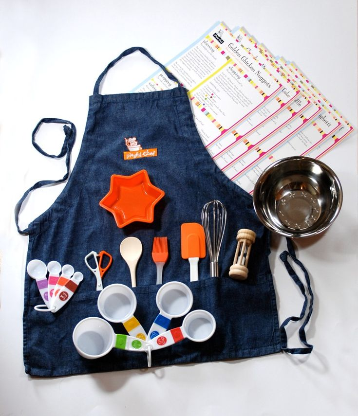 Playful Chef Kids Cooking Kits. FUN! :)