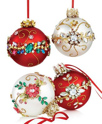 Mark Roberts Bejeweled Ornament Collection