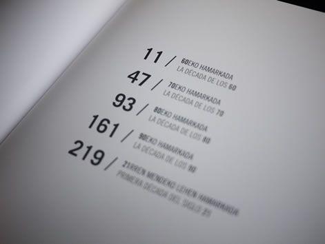 Diseño del libro Azaletatik Sustraietara