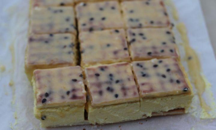 No-bake vanilla slice - Kidspot