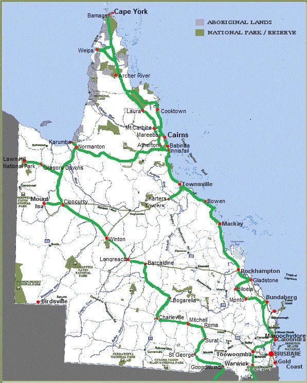 Queensland caravan road trip overview