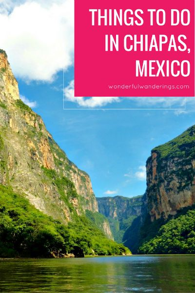 Check this list of cool things to do in Chiapas Mexico to plan your trip