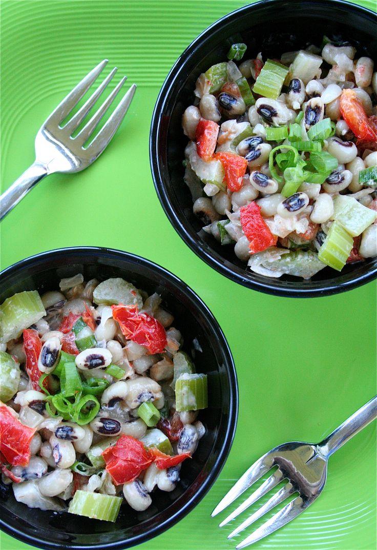 black eyed pea salad pea salad recipes carrot salad vegetarian recipes ...