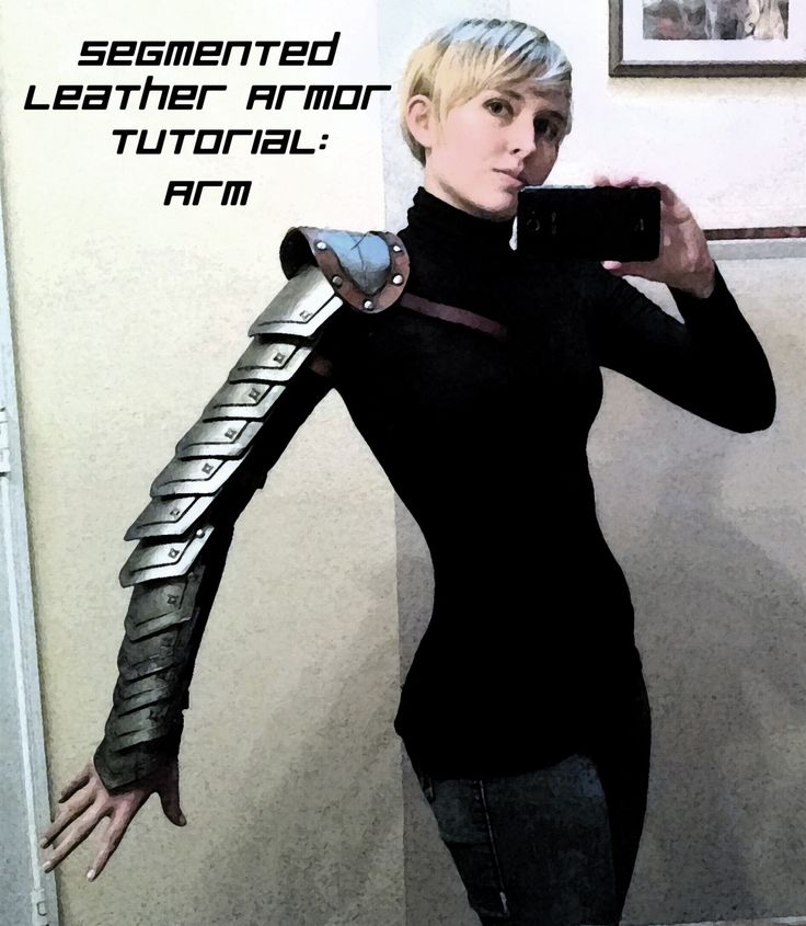Segmented Leather Armor Tutorial: Arm