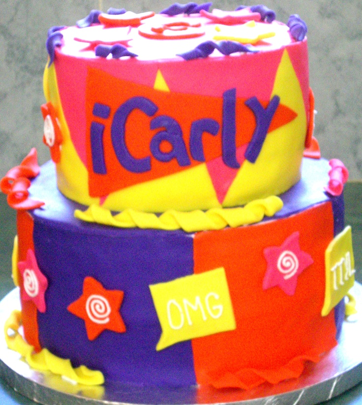 Icarly Cake Toppers For Birthdays
