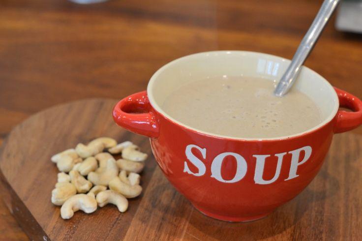 Recipe: Vegan Cream of Mushroom Soup - Planet Veggie