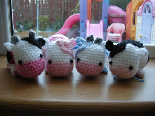 Craft Notes: Free Crochet Pattern Roundup:Moo Cows