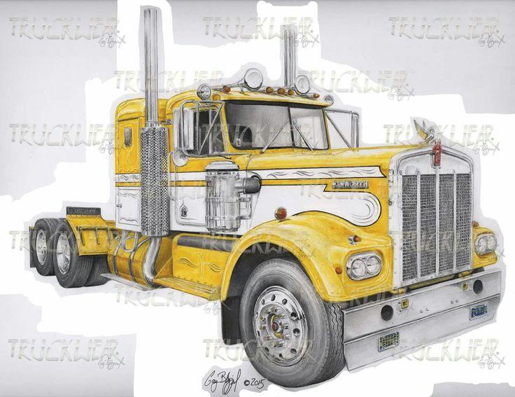 17 Best images about Truck Art on Pinterest   Cartoon art ...