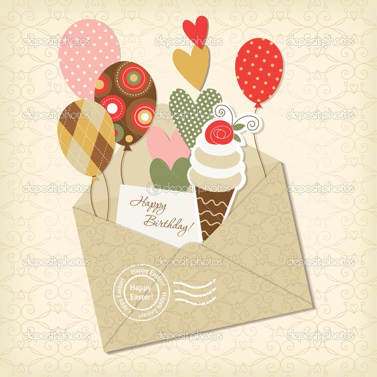 скрап открытки с днем рождения - Поиск в Google