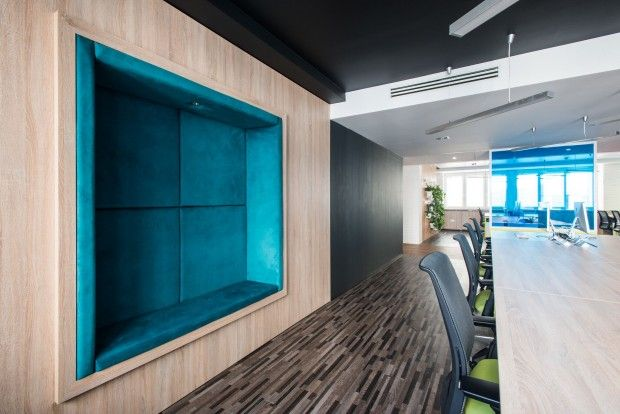 Hortonworks Budapest Office par GASPARBONTA - Journal du Design