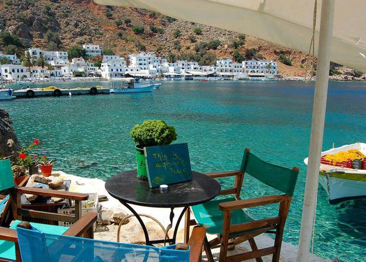 Tavern in the area of Sfakia