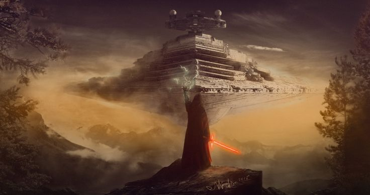 ArtStation - Star Wars: Kylo Ren. (Fan Art), Vladimir Mineev
