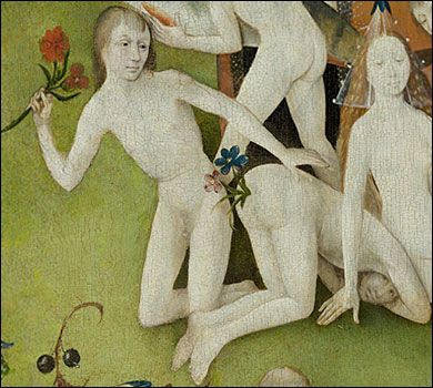 Le Jardin des délices - Hieronymus Bosch (Hertogenbosch 1450~1516 Hasburg) aka Jérôme or Jheronimus van Aken Bosch.