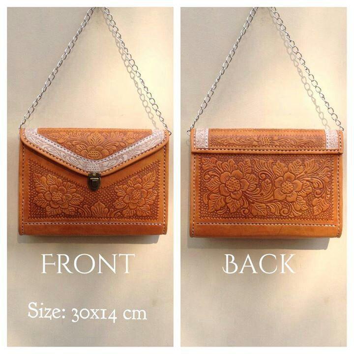 PU001 Premium Leather Bag - IDR 390.000