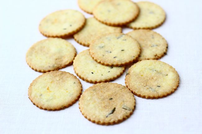 Delicious Rosemary Cookies with The Year in Food