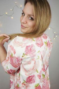 Du sucht den perfekten Schnitt für eine chice Bluse zum selber nähen? Dann wirst du dieses Schnittmuster lieben.