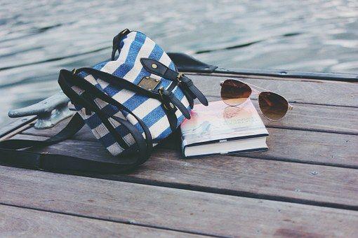 Torba, Książka, Okulary, Czytanie