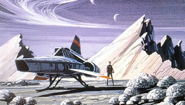 If you're like me, you'll like spaceships and that means you'll like this. An original 1980's era ...