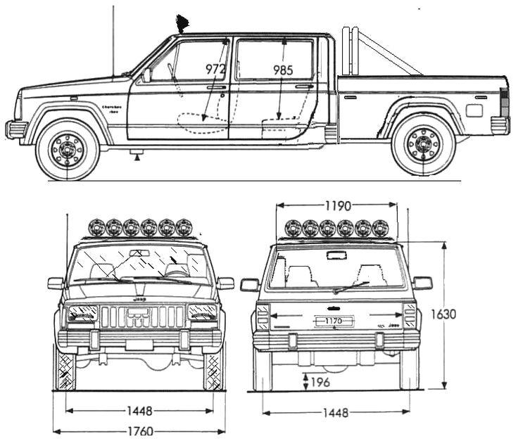 30 Best Jeep Blueprints Images Jeep Jeeps