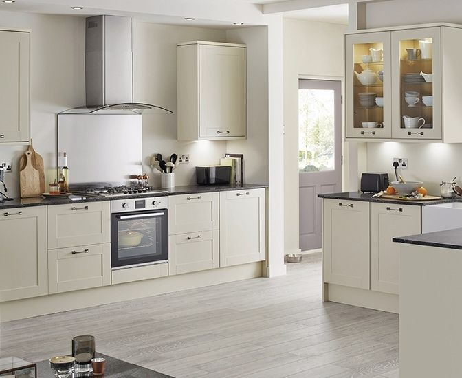 Kitchens White Shaker Kitchens In 2019 Ivory Kitchen