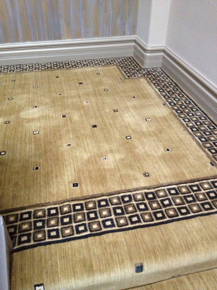 A Custom Nourison Broadloom Carpet And Border Installation