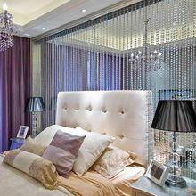 7 м кристалл бусины шторы для гостиной роскошные круглый кристалл алмаза жалюзи свадебный декор шторы для спальни(China (Mainland))