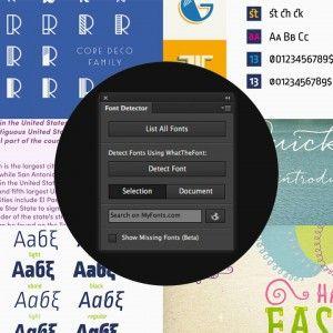 Free Photoshop Font Detector