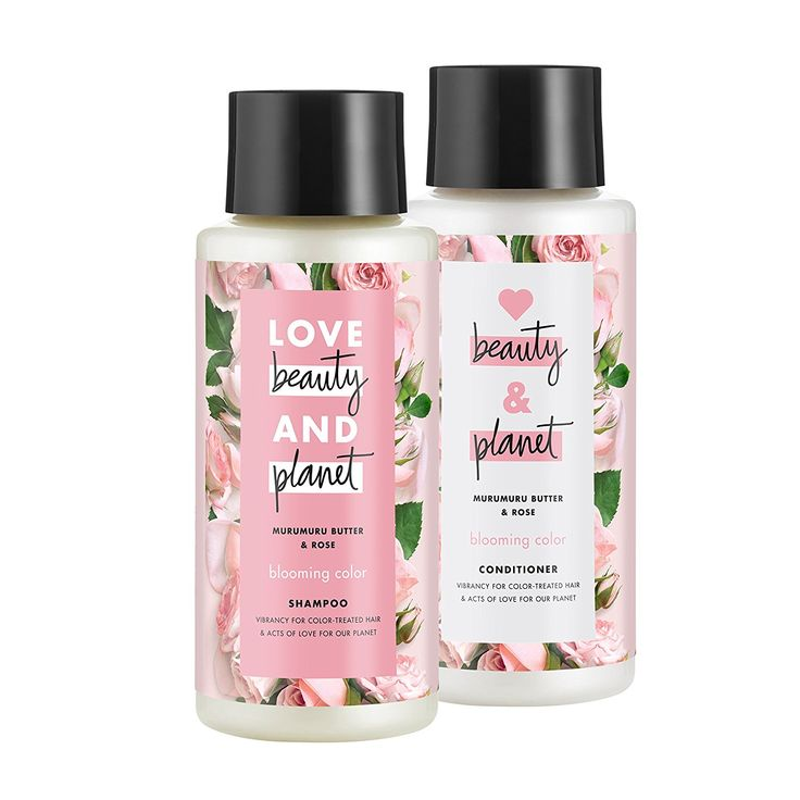 Love Beauty and Planet rose shampoo and conditioner - this stuff smells soooo good