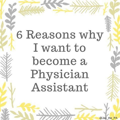 New post up on the blog! Learn my six reasons for wanting to pursue being a Physician Assistant! https://jaythepa.wordpress.com/2016/11/18/6-reasons-why-i-want-to-become-a-physician-assistant/ #prepa #physicianassistant #healthcare #jaythepa #caspa #healthcareer #physicianassistantstudent