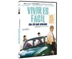 vivir es facil con los ojos cerrados dvd